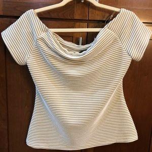 NY and Co off the shoulder top Medium